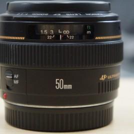 Óptica Canon 50 F1.4